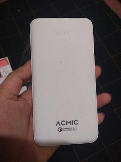 7 Membandingkan Powerbank Acmic C10 Pro Dengan Xiaomi Mi Powerbank 2 10000 mAh