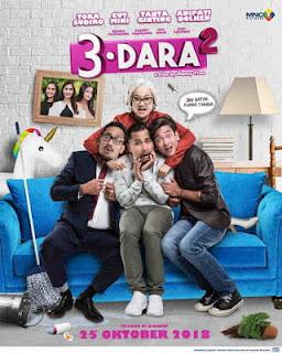 Nama Pemain biodata pemeran dan Sinopsis Film 3 Dara 2 lengkap
