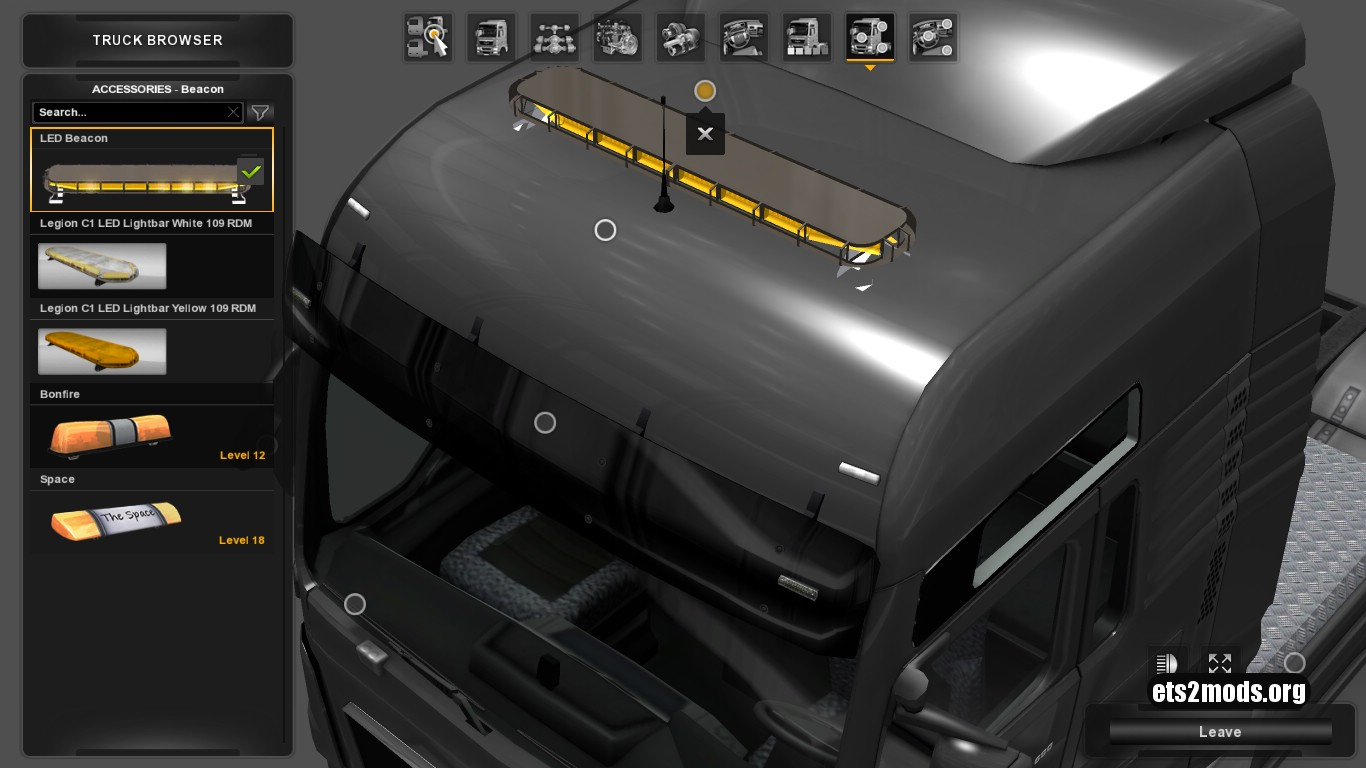 LED Beacon for all Trucks 1.7
