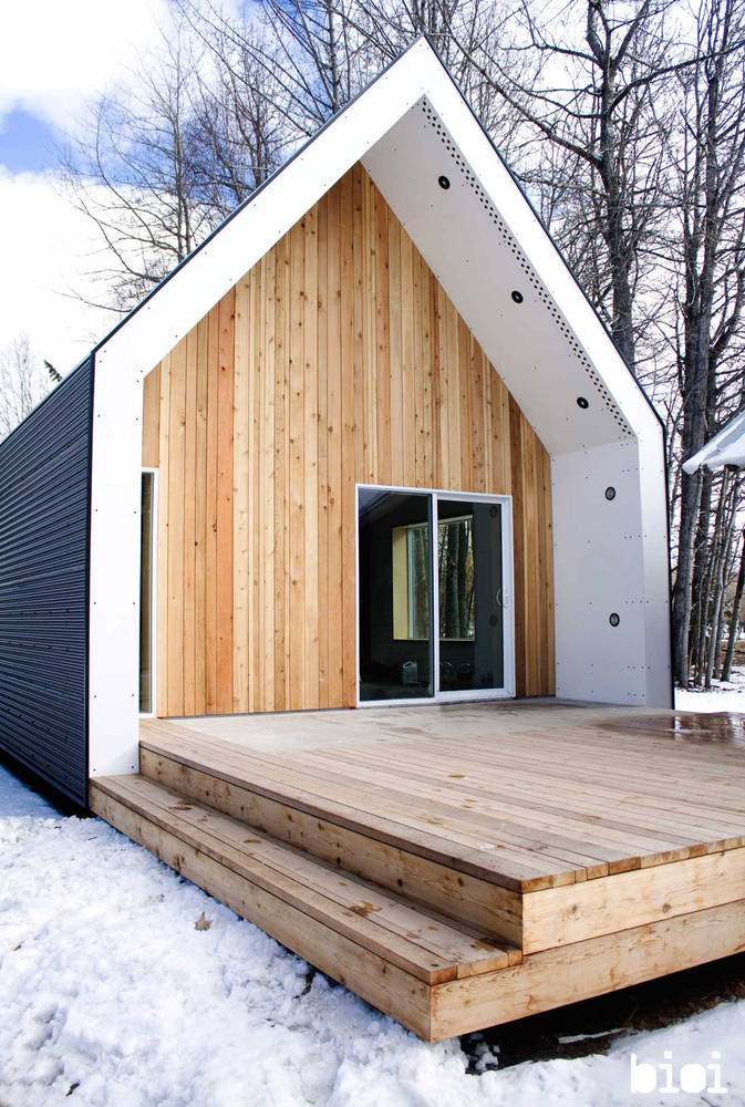 Modern tiny home under 100k poppytalk for Build a house for under 100k