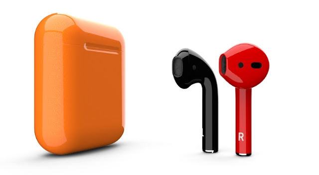 This is truly amazing, ColorWare is offering custom colored AirPods in 58 different colors for $289 excluding the case color and $319 including the case color.