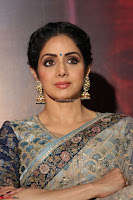 Sri Devi in designer saree stunning beauty at the launch of MOM movie Trailer~  Exclusive 075.JPG
