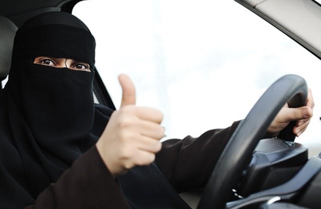 موضوع مكتوب عن السماح للمرأة بقيادة السيارة في السعودية