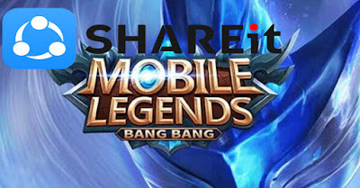 Cara Kirim Game Mobile Legend dengan Shareit Tanpa Download Resource
