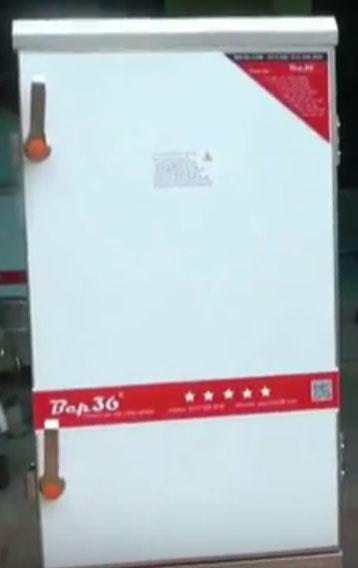 Tủ nấu cơm gas 12 khay tại Sài Gòn