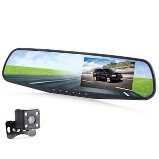 specchio retromarcia telecamera 2 telecamera dvr