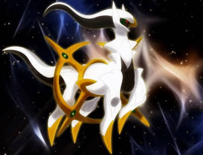 Arceus - Pokemon legendaris terkuat