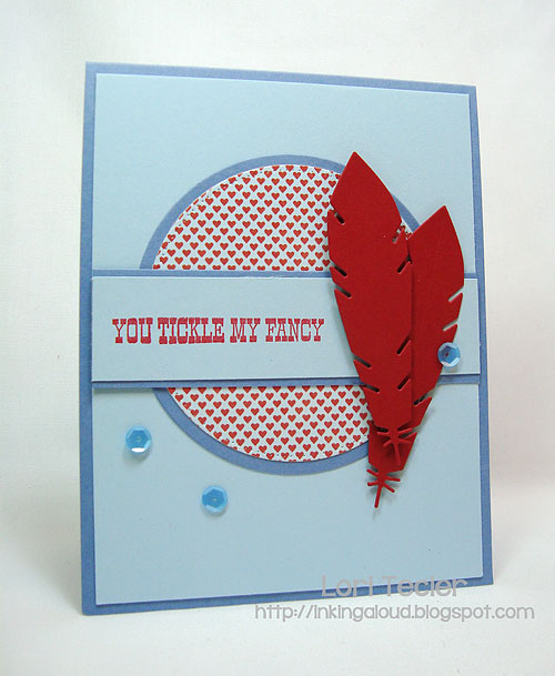 You Tickle My Fancy-designed by Lori Tecler-Inking Aloud-stamps from My Favorite Things