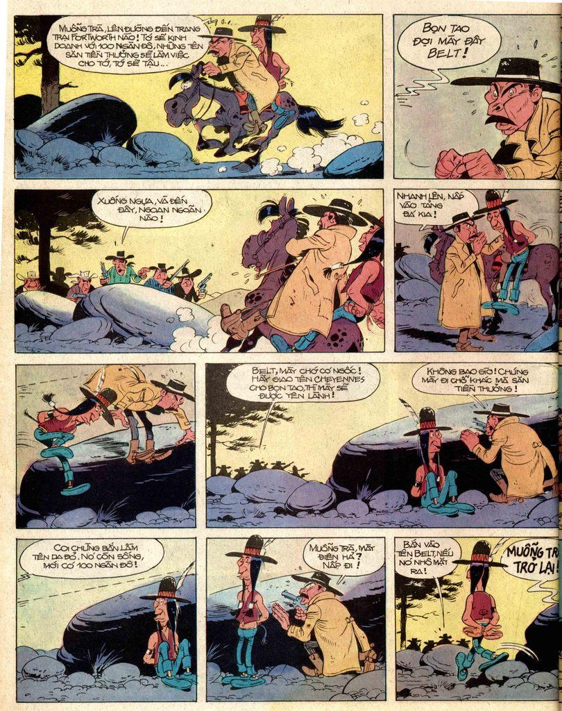 Lucky Luke tap 2 - ke san tien thuong trang 36