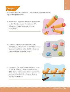 Apoyo Primaria Desafíos Matemáticos 2do Grado Bloque 2 Lección 31 La tienda de juguetes