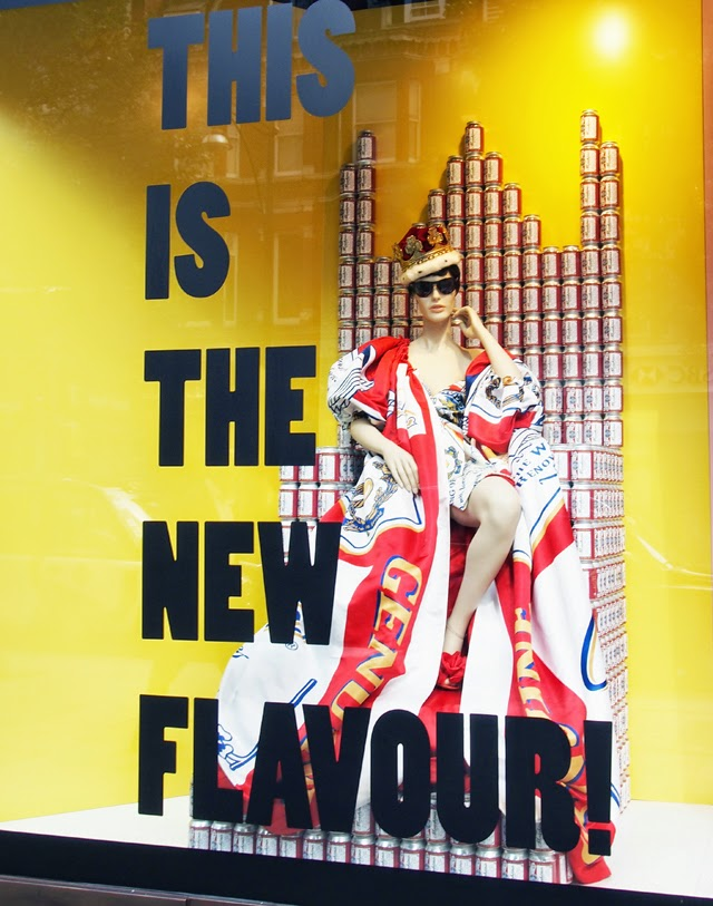 Moschino Selfridges windows