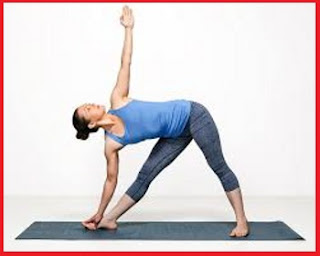 Triangle Pose (Trikonasana) Yoga