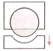 Pembuatan cetakan dua sisi atau lebih