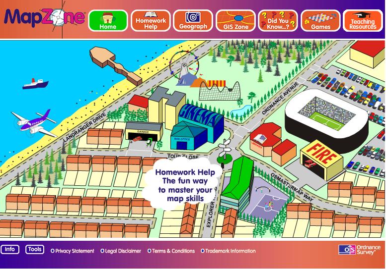 Ordnance survey mapzone homework help