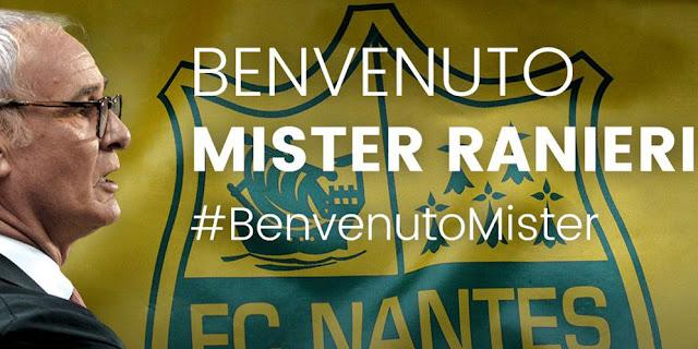 SBOBETASIA - Sempat Diganjal Regulasi, Ranieri Resmi Pelatih FC Nantes