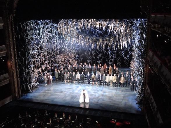 Fan ticos da pera opera fanatics norma royal opera house londres london setembro - Canta casta diva ...