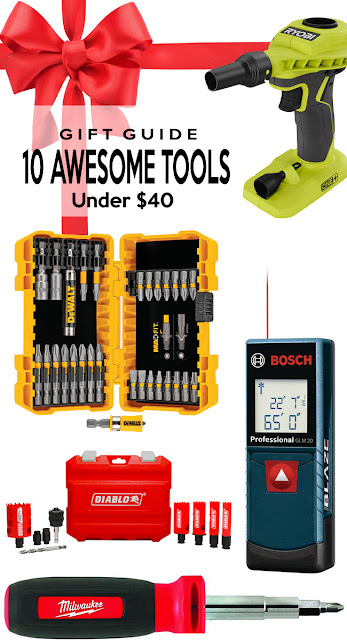 great brands that make wonderful gifts - Tools for the diyer in your life.