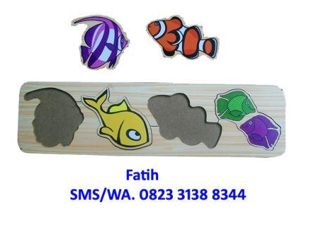 Mainan Edukasi Puzzle Ikan 2