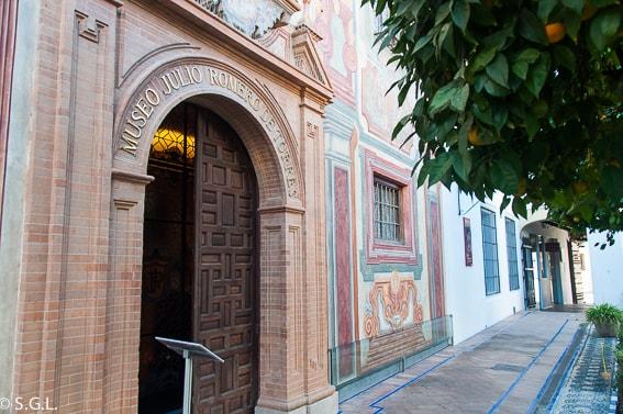 Entrada al Museo Julio Romero de Torres. Cordoba