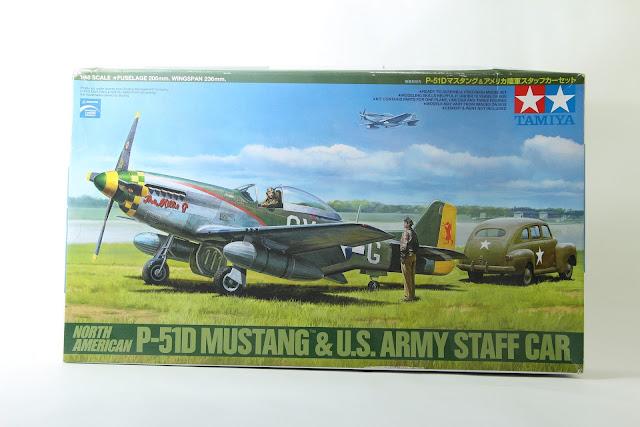 Montage pas à pas du P-51D Mustang de Tamiya au 1/48.