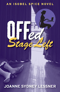 Excerpt: Offed Stage Left by Joanne Sydney Lessner