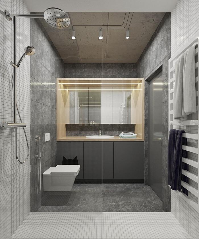 Thiết kế nội thất căn hộ chung cư nhỏ 42m2- 9