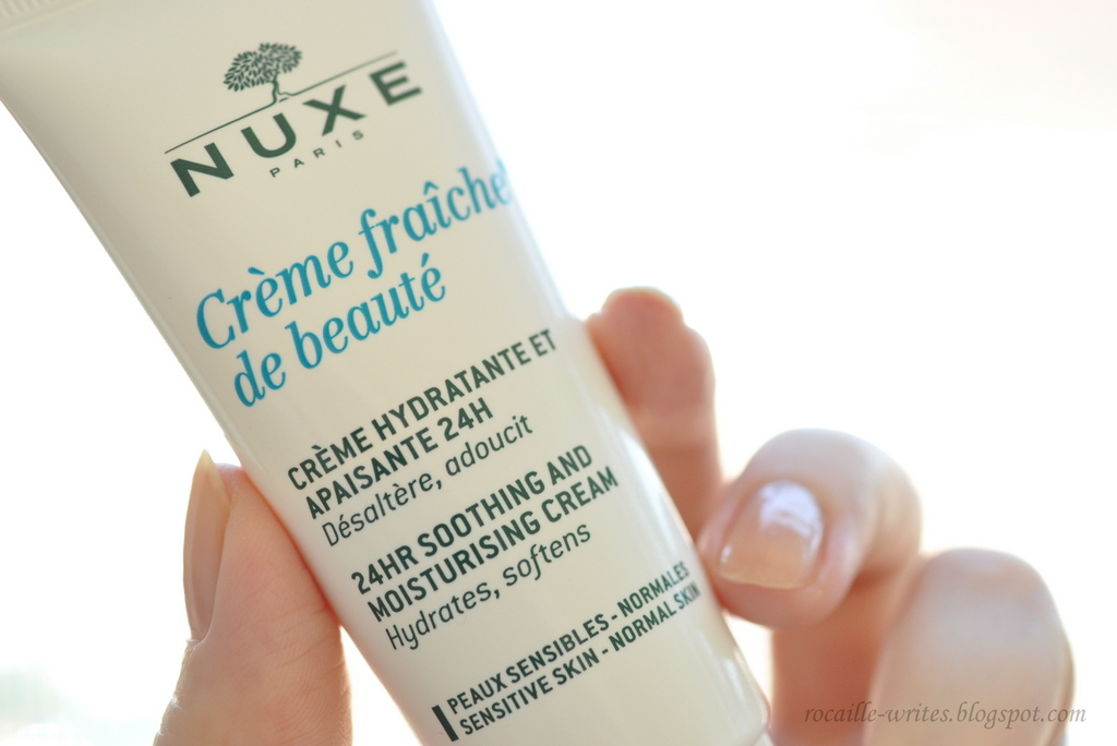Rocaille Writes Glorious Staples Nuxe Crème Fraîche De