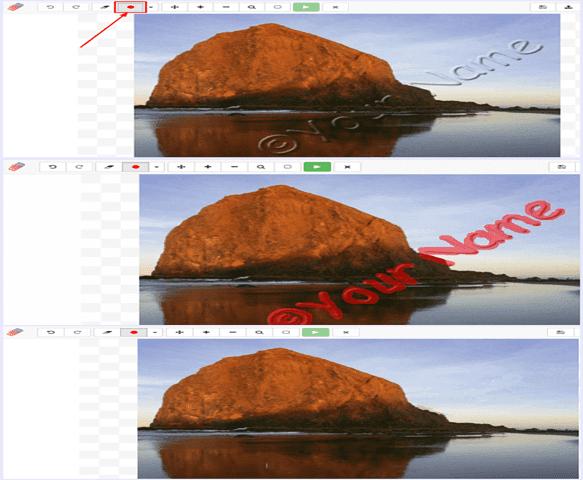 طرق حذف العلامات المائية او الشعارات الكتابية من على الصور و