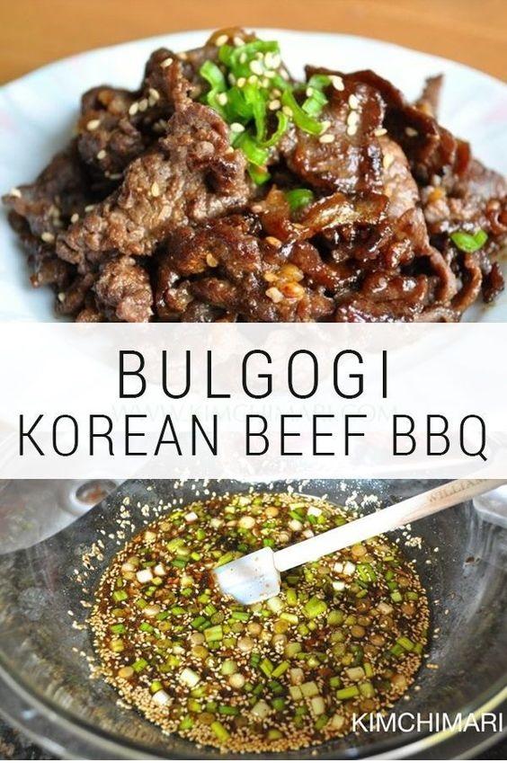 Authentic Korean Beef BBQ