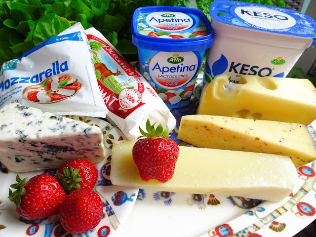 terveellisimmät juustot