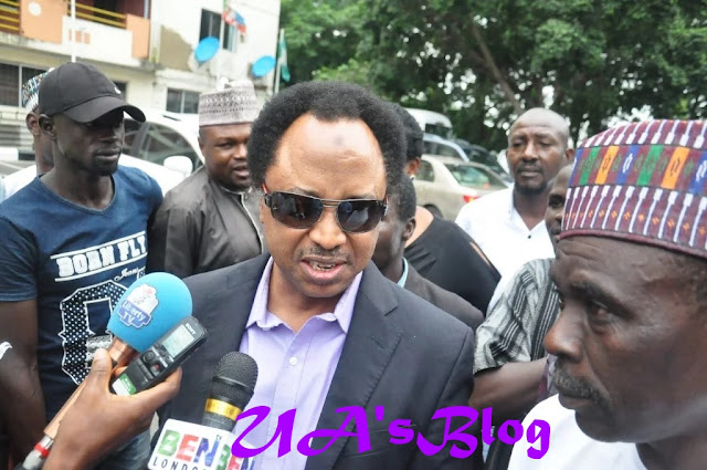 Senator Shehu Sani finally reacts to suspension by APC, speaks on plan to impeach Saraki