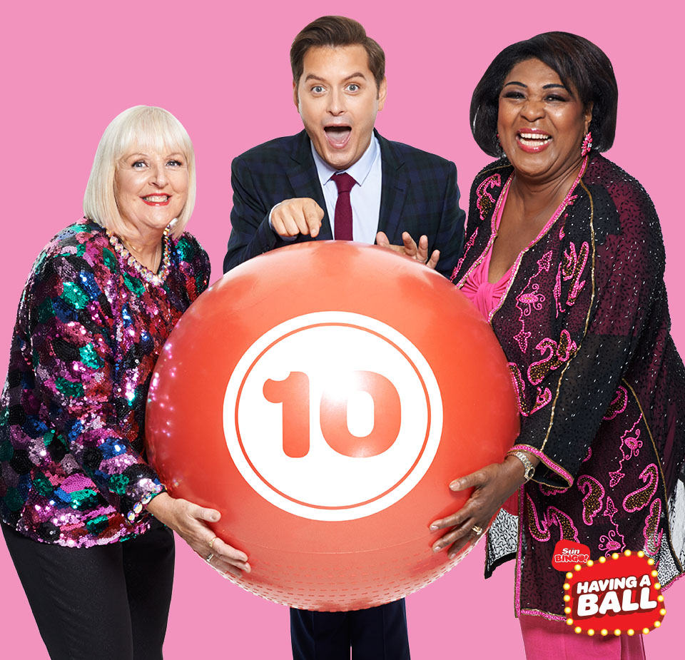 Sun Bingo, Having A Ball, Brian Dowling, Rustie Lee, Jean Martyn