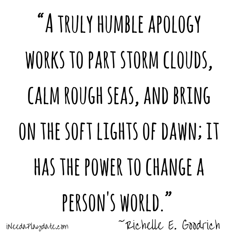Humble Apology: Who Says 'I'm Sorry' By Text? 5 Quotes About Apologizing