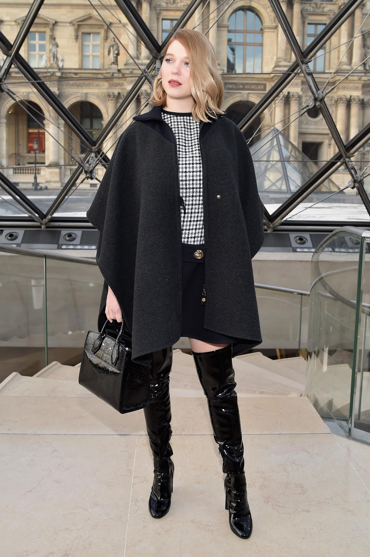 Léa Seydoux at Paris Fashion Week