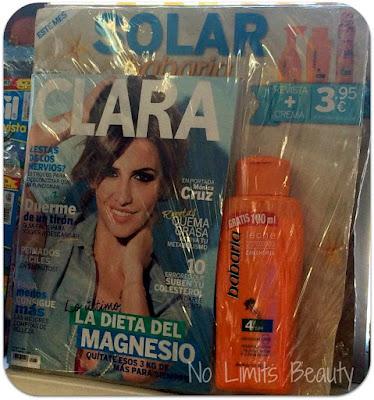 Regalos revistas julio 2016: Clara