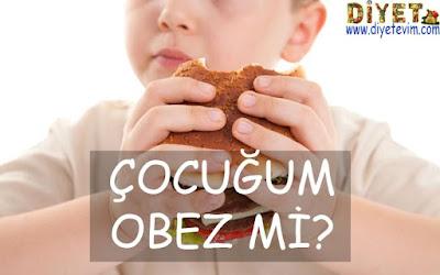obezite çocuk