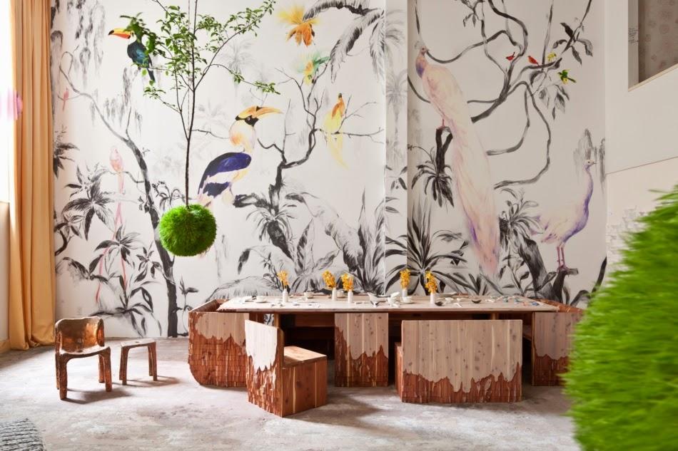 Berikut Adalah Contoh Konsep Lukis Dinding Ruangan Yang Dapat Anda Jadikan Sebagai Referensi Mural Lukisan China