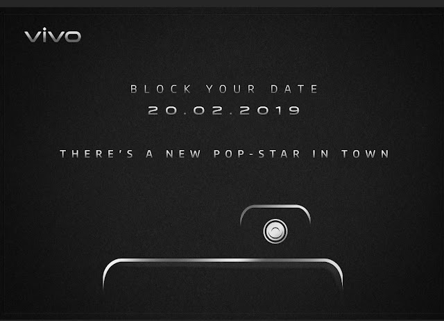 Vivo V15 Pro with 32MP selfie camera (pop-up), set to launch in India on February 20