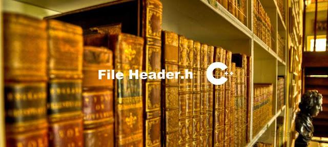 Pengertian dan Fungsi File-header C++ - Belajar C++