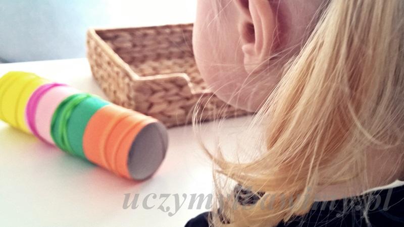 Sorter kolory małe dziecko - nauka kolorów
