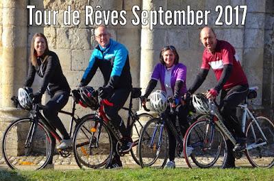Tour de Rêves charity bike ride Deux-Sèvres French Village Diaries