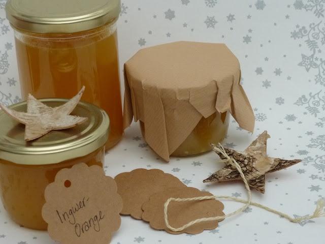 Orangen-Ingwer-Marmelade aus Orangensaft