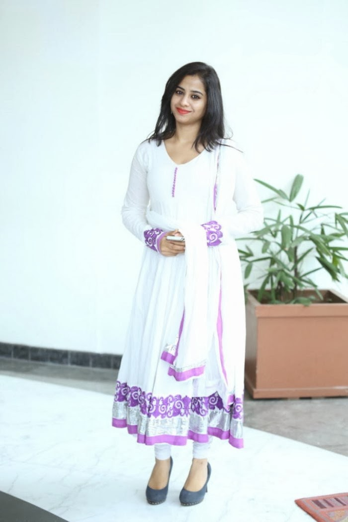Charming Swati dixit latest stills in salwar kameez at black is black event