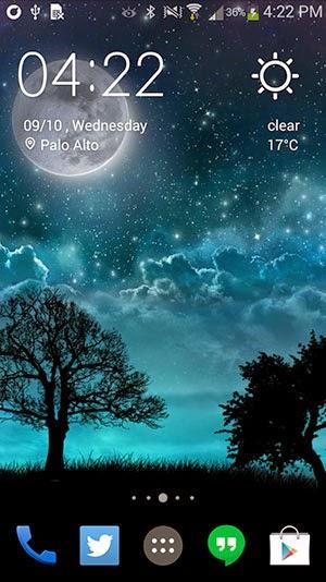 Dream Night Pro Live Wallpaper Apk Terbaru