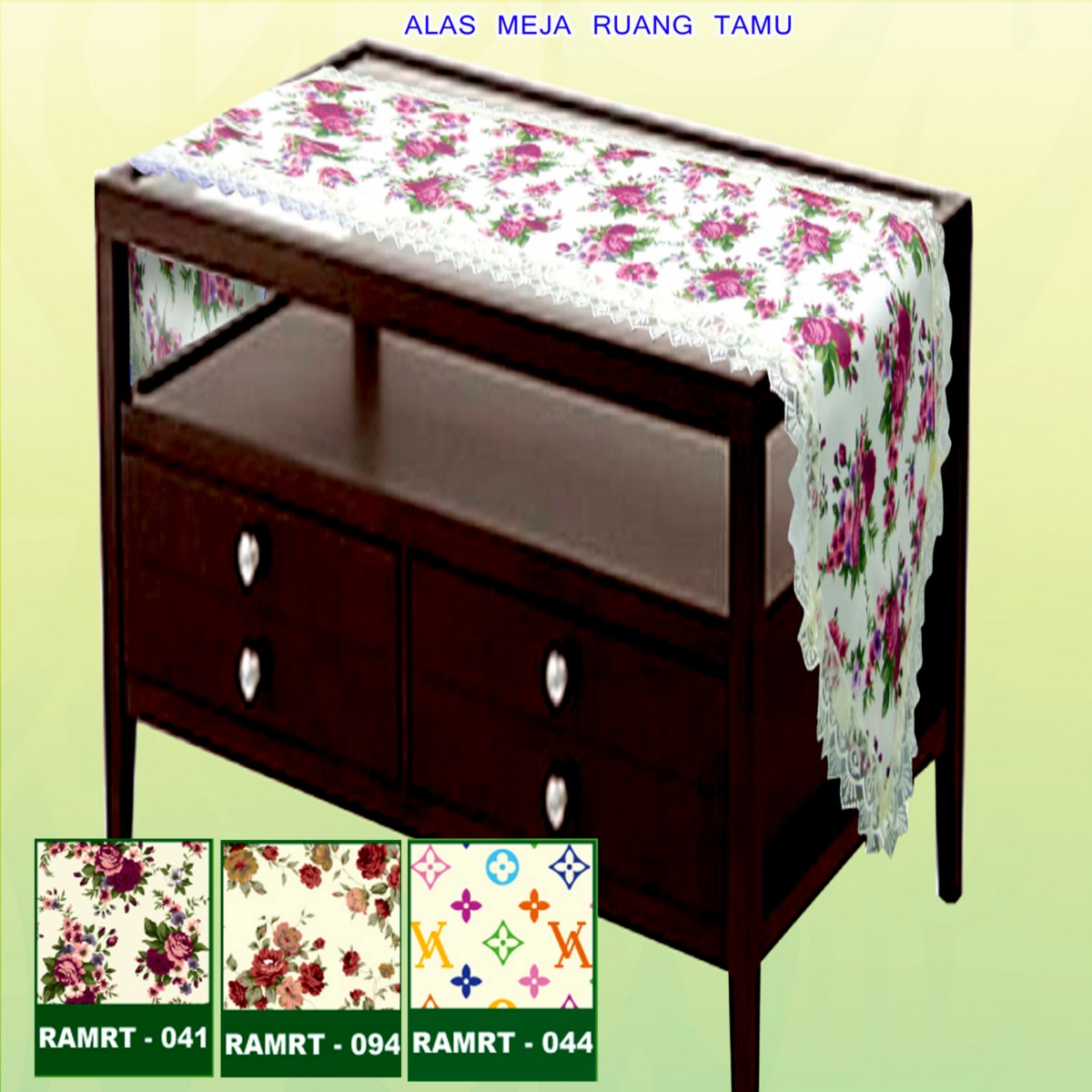 Alas Meja Ruang Tamu Saiz 12 X 59 1 Helai Harga Baru Rm24 90