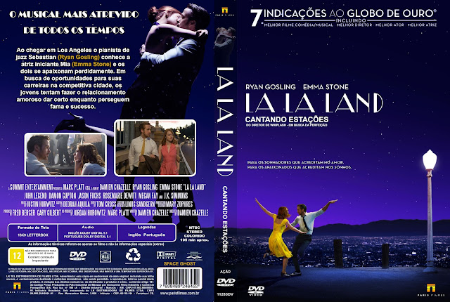 Capa DVD La La Land