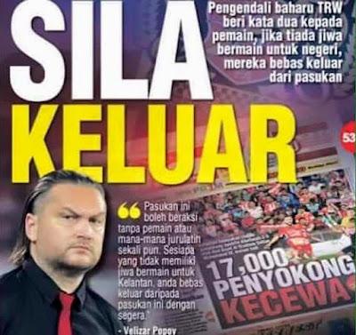 Pemain Tiada Jiwa Kelantan, Sila Keluar!