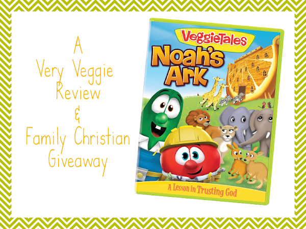 Noah's Ark: A Very Veggie Review & Family Christian Giveaway #FCBlogger