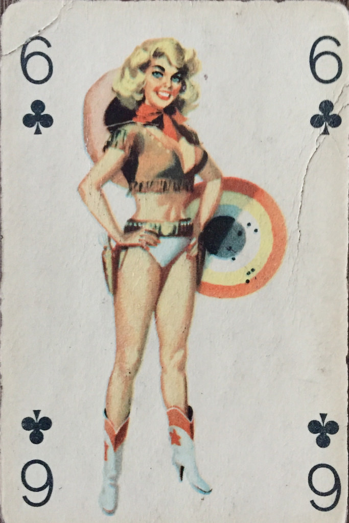 Cowgal of Clubs !