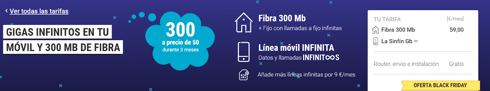 Fibra Yoigo Black Friday 2018